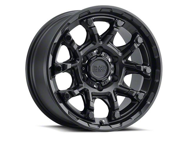 Black Rhino Ark Matte Black 6-Lug Wheel; 18x9; -18mm Offset (05-15 Tacoma)
