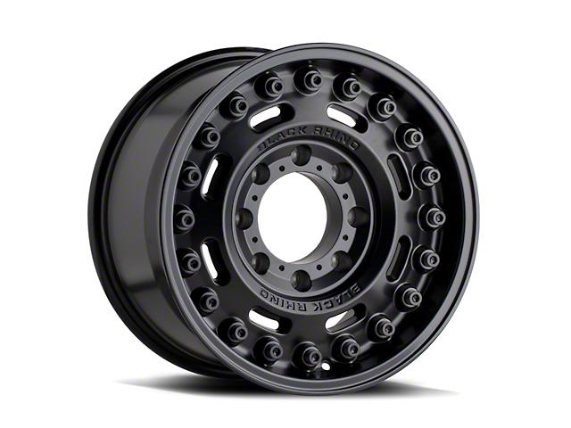 Black Rhino Axle Matte Black 6-Lug Wheel; 17x9.5; -18mm Offset (16-21 Tacoma)