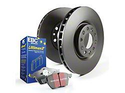 EBC Brakes Stage 1 Premium Street 6-Lug Brake Rotor and Pad Kit; Rear (14-18 Silverado 1500)