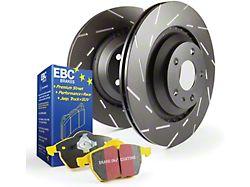 EBC Brakes Stage 9 Yellowstuff 6-Lug Brake Rotor and Pad Kit; Front (07-18 Sierra 1500)