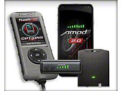 Superchips Flashcal and Amp'D 2.0 Throttle Booster Kit (07-13 V8 Silverado 1500; 14-16 Silverado 1500)