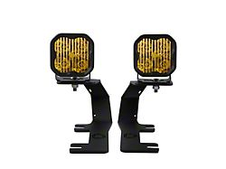 Diode Dynamics SS3 Pro LED Ditch Light Kit; Yellow Driving (14-18 Sierra 1500)