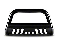 Armordillo Bumper Push Bar; Bull Guard; With Skid Plate; Black (99-06 Silverado 1500)