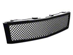 Armordillo Grille; Mesh Style; Black (07-13 Silverado 1500)