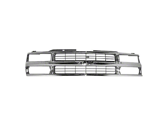 Grille Assembly; Replacement Part (99-02 Silverado 1500)