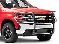 Grille Guard; Stainless Steel (19-22 Silverado 1500)