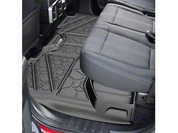 Air Design Soft Touch Front and Rear Floor Liners; Black (16-18 Sierra 1500 Crew Cab)