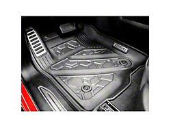 Air Design Soft Touch Front Floor Liners; Black (19-21 Sierra 1500 Regular Cab, Double Cab)