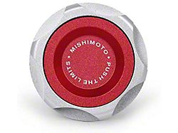 Mishimoto Oil Filler Cap; Red (14-22 4.3L Silverado 1500)