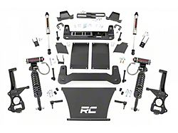 Rough Country 6-Inch Suspension Lift Kit with Adjustable Vertex Coil-Overs and V2 Monotube Shocks (19-22 Silverado 1500, Excluding Diesel & Trail Boss)