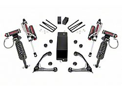 Rough Country 3.50-Inch Suspension Lift Kit with Forged Upper Control Arms, Adjustable Vertex Coil-Overs and Vertex Shocks (07-16 4WD Silverado 1500)