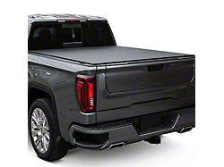 Lomax Stance Hard Tri-Fold Tonneau Cover; Black Diamond Mist (14-18 Sierra 1500 w/ 5.80-Foot Short & 6.50-Foot Standard Box)
