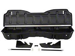 Underseat Storage with Lockable Lid; Black (14-18 Sierra 1500 Crew Cab)