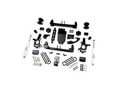 Zone Offroad 4.50-Inch Suspension Lift Kit with Nitro Shocks (14-18 4WD Sierra 1500 w/ Stock Cast Steel Control Arms, Excluding Denali)
