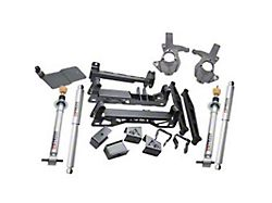 Belltech 7-Inch Adjustable Suspension Lift Kit with Street Performance Shocks (07-16 4WD Sierra 1500 Extended/Double Cab, Crew Cab w/ Stock Cast Steel Control Arms, Excluding 14-16 Denali)
