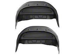 Husky Rear Wheel Well Guards; Black (99-06 Sierra 1500)