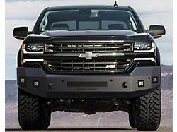 Fortis Front Bumper; Textured Black (16-18 Silverado 1500)