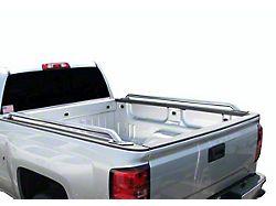 Bed Rails; Stainless Steel (07-13 Silverado 1500 w/ 5.80-Foot Short Box)