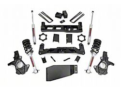Rough Country 5-Inch Suspension Lift Kit with Lifted Struts and Premium N3 Shocks (07-13 4WD Sierra 1500)