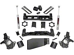 Rough Country 5-Inch Suspension Lift Kit with Premium N3 Shocks (07-13 4WD Sierra 1500)