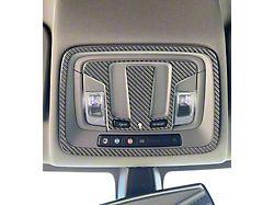 Overhead Accent Trim; Domed Carbon Fiber (19-22 Silverado 1500 w/o Sunroof)