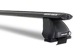 Rhino-Rack Vortex 2500 1-Bar Roof Rack; Black (14-18 Silverado 1500 Double Cab, Crew Cab)