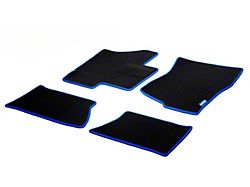 Goodyear Custom Fit Front and Rear Floor Liners; Black (07-13 Silverado 1500 Crew Cab)