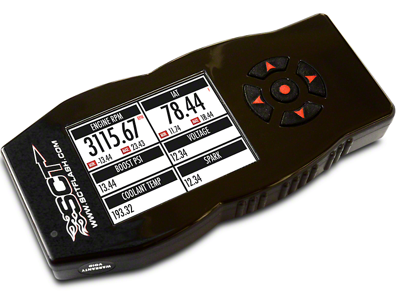 SCT SF4/X4 Power Flash Tuner (14-16 6.2L Silverado 1500)