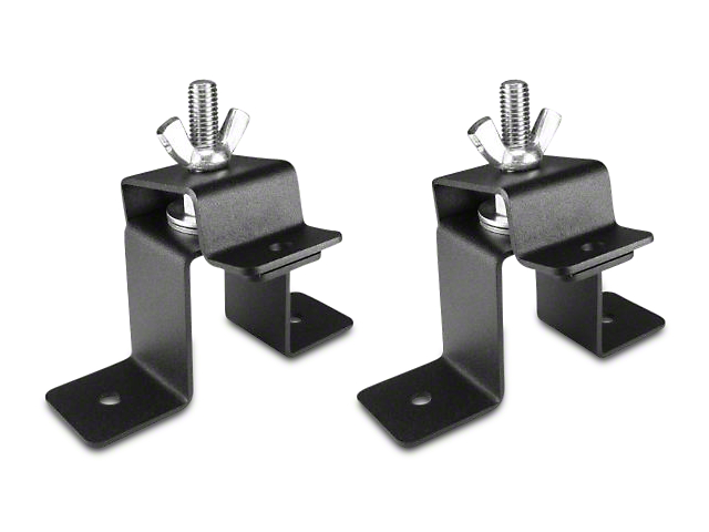 Leitner Designs Bed Rack Hi-Lift Jack Brackets (Universal Fitment)