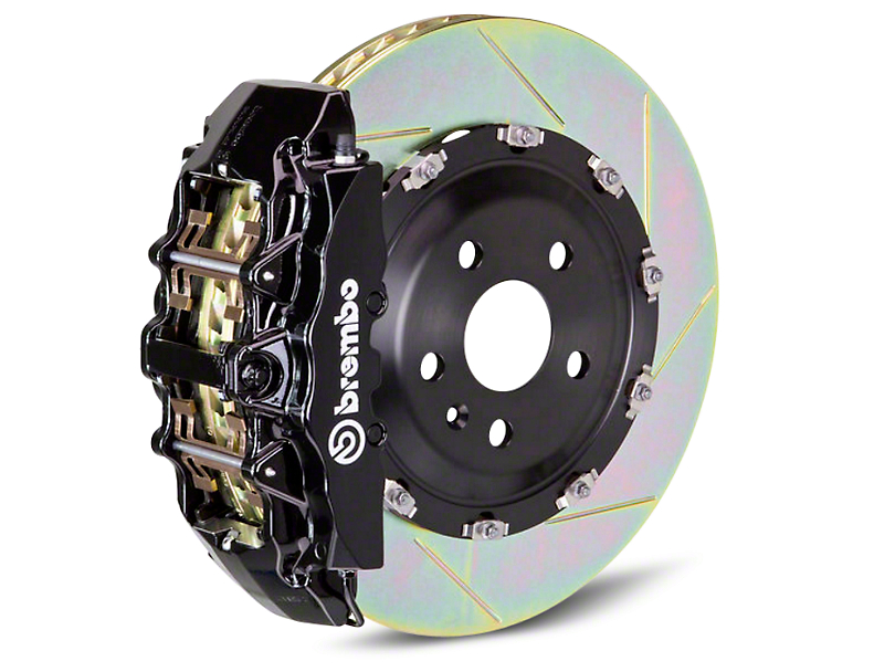Brembo GT Series 8-Piston Front Brake Kit - 2-Piece Slotted Rotors - Black (07-18 Sierra 1500)