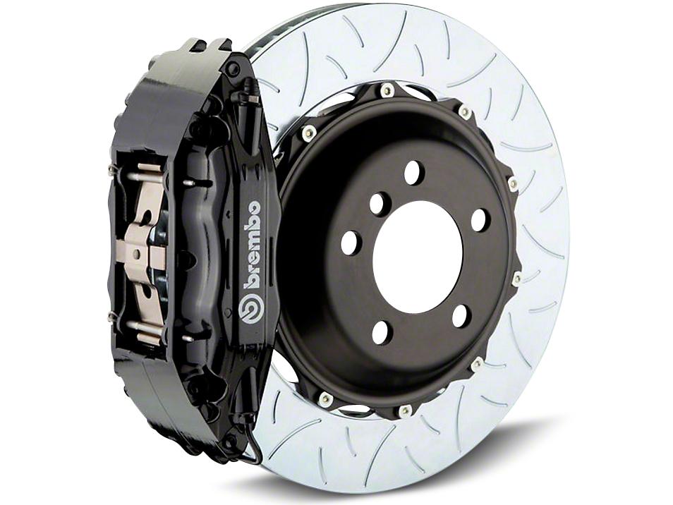 Brembo GT Series 4-Piston Rear Brake Kit - Type 3 Slotted Rotors - Black (07-13 Sierra 1500)