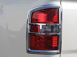Chrome Tail Light Covers (14-15 Sierra 1500; 16-18 Sierra 1500 w/o LED Tail Lights)
