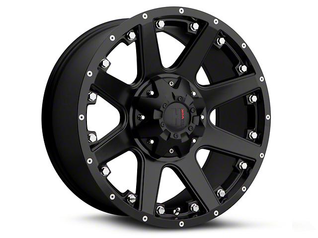 Havok Off-Road H102 Matte Black 6-Lug Wheel - 18x9 (07-18 Sierra 1500)