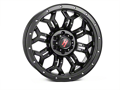 Havok Off-Road H108 Matte Black 6-Lug Wheel - 20x9 (07-18 Sierra 1500)