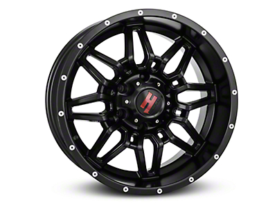 Havok Off-Road H109 Matte Black 6-Lug Wheel - 18x9 (07-18 Sierra 1500)