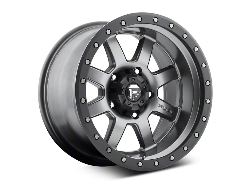 Fuel Wheels Trophy Anthracite w/ Black Ring 6-Lug Wheel - 20x9; 1mm Offset (07-20 Sierra 1500)