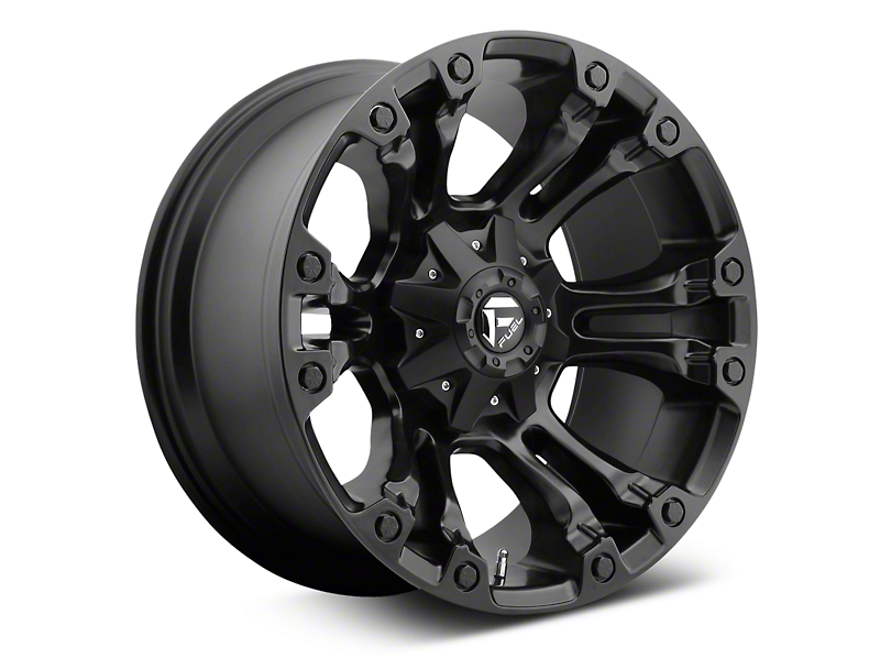 Fuel Wheels Vapor Matte Black 6-Lug Wheel - 20x9; 35mm Offset (07-19 Sierra 1500)