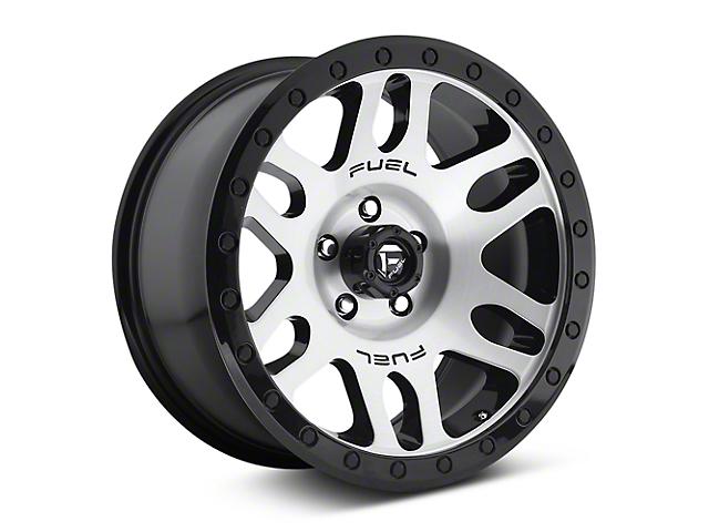 Fuel Wheels Recoil Brushed w/ Black Ring 6-Lug Wheel; 18x9 (07-18 Sierra 1500)