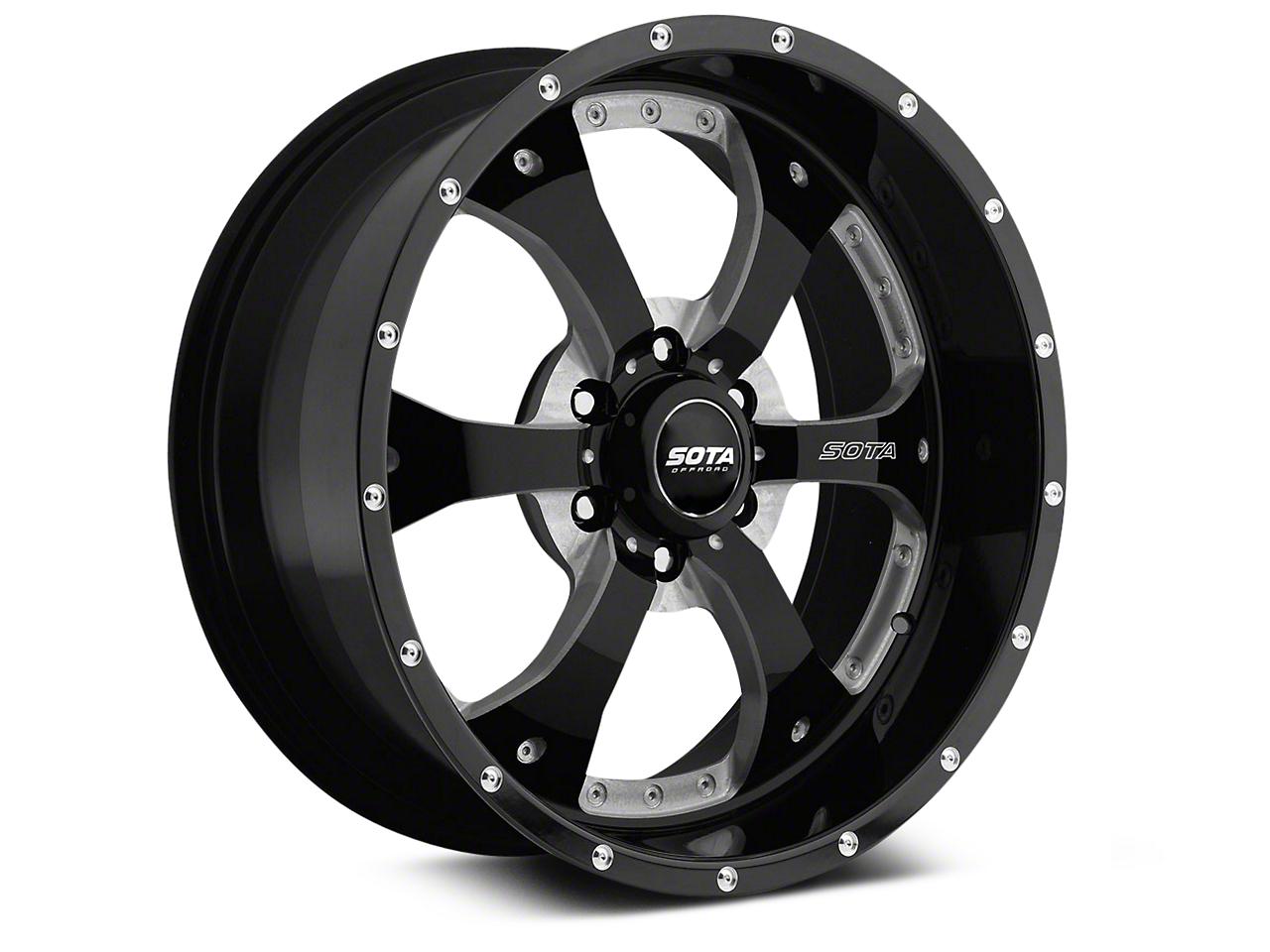 SOTA Off Road NOVAKANE Death Metal 6-Lug Wheel - 20x10 (07-18 Sierra 1500)
