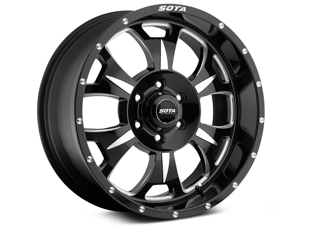 SOTA Off Road M-80 Death Metal 6-Lug Wheel - 20x9 (07-18 Sierra 1500)