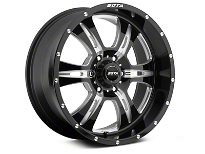 SOTA Off Road REHAB Death Metal 6-Lug Wheel - 20x9 (07-18 Sierra 1500)