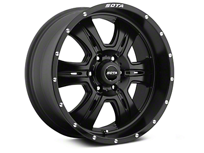 SOTA Off Road REHAB Stealth Black 6-Lug Wheel - 20x9 (07-18 Sierra 1500)