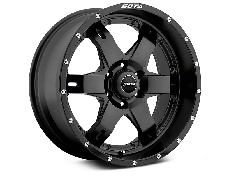 SOTA Off Road REPR Stealth Black 6-Lug Wheel - 20x9 (07-18 Sierra 1500)