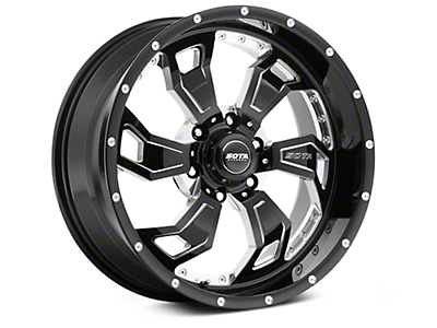 SOTA Off Road SCAR Death Metal 6-Lug Wheel - 20x9 (07-18 Sierra 1500)