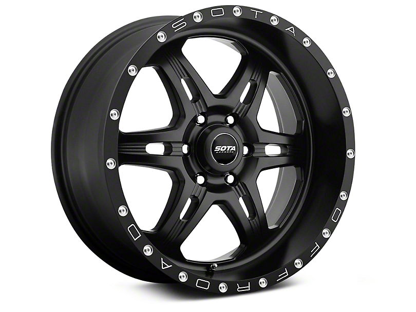 SOTA Off Road FITE Stealth Black 6-Lug Wheel - 20x9 (07-18 Sierra 1500)