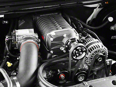 Whipple W140AX 2.3L Intercooled Supercharger Tuner Kit (07-09 6.0L Sierra 1500, Excluding Hybrid)