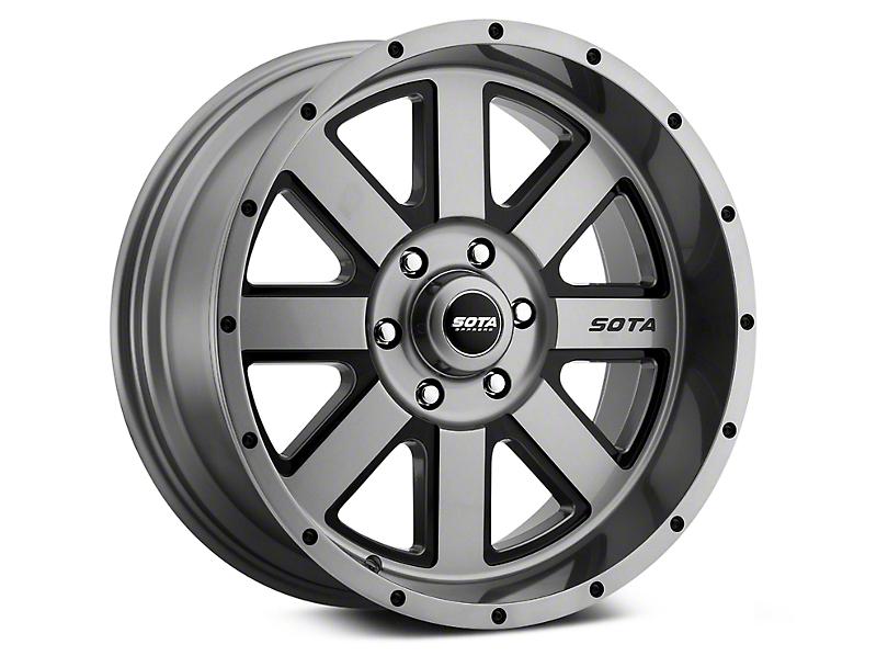 SOTA Off Road AWOL Anthra-Kote Black 6-Lug Wheel - 20x9 (07-18 Sierra 1500)