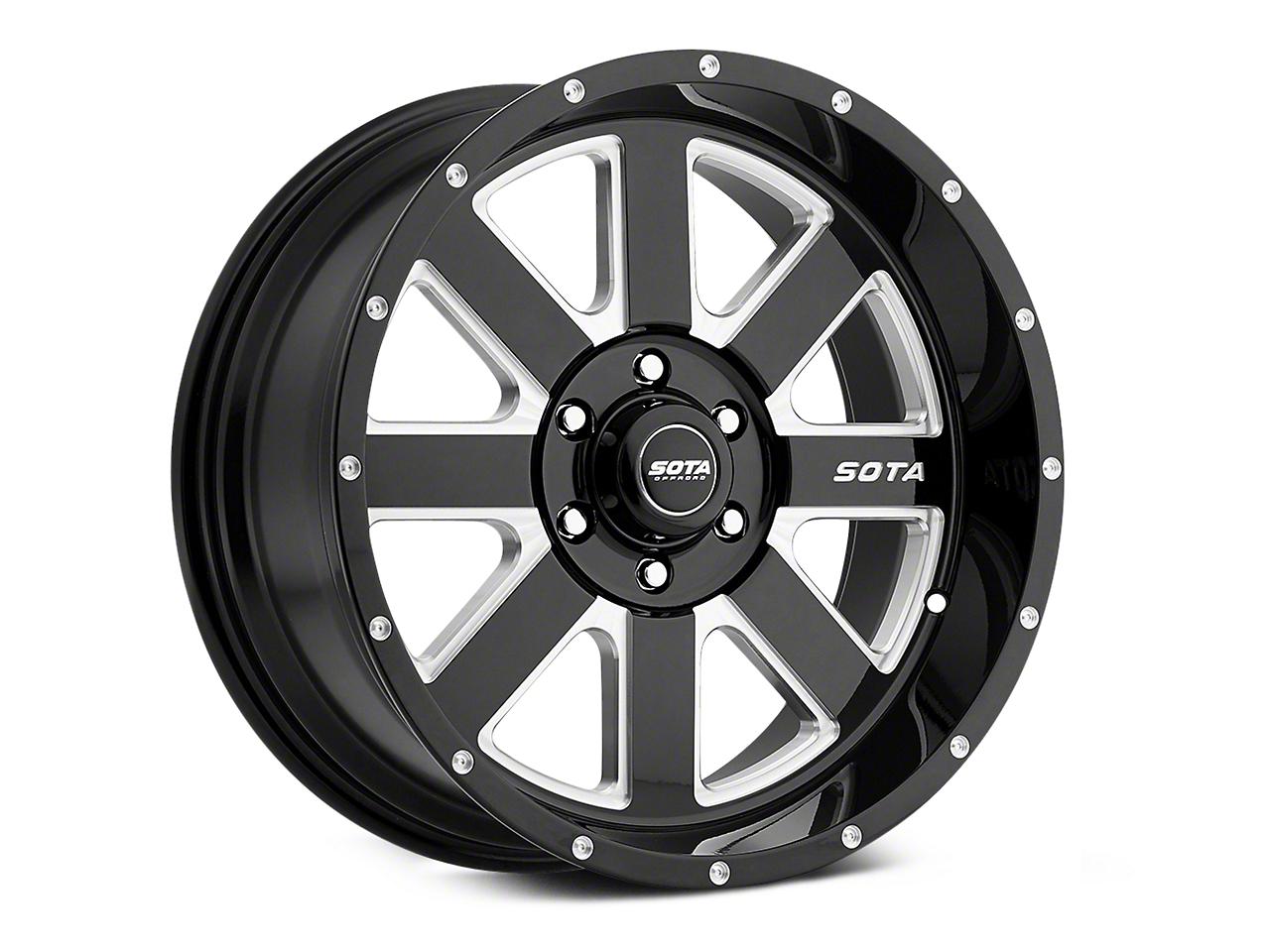 SOTA Off Road AWOL Death Metal 6-Lug Wheel - 20x10 (07-18 Sierra 1500)