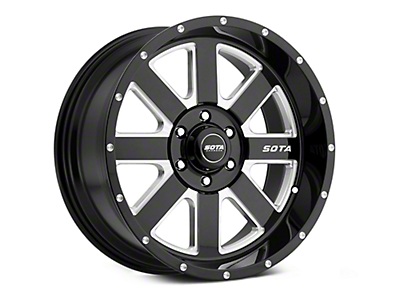 SOTA Off Road AWOL Death Metal 6-Lug Wheel - 22x12 (07-18 Sierra 1500)