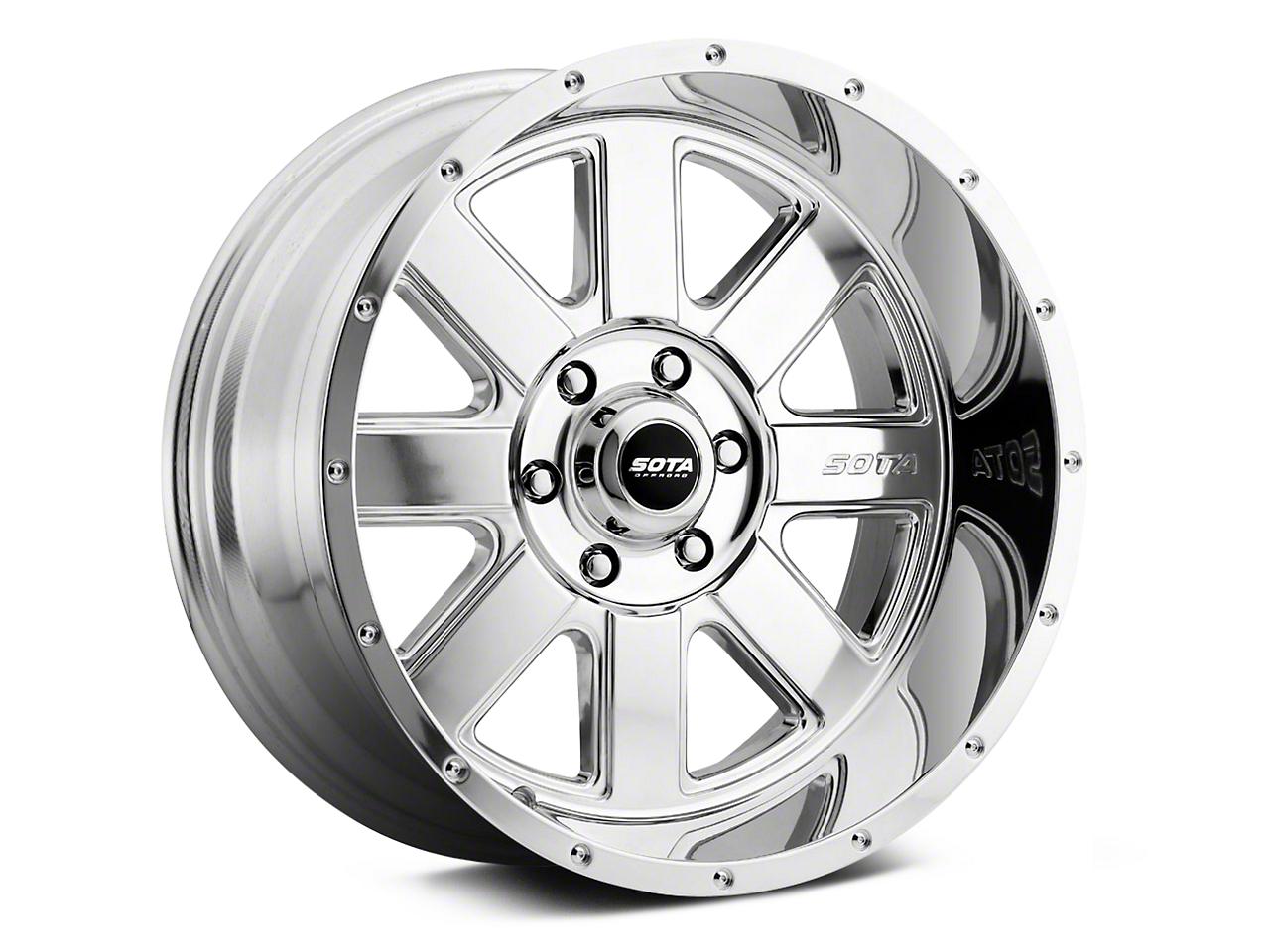 SOTA Off Road AWOL Polished 6-Lug Wheel - 20x10.5 (07-18 Sierra 1500)